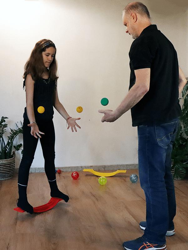 Brain Ball Enfant psychomotricité