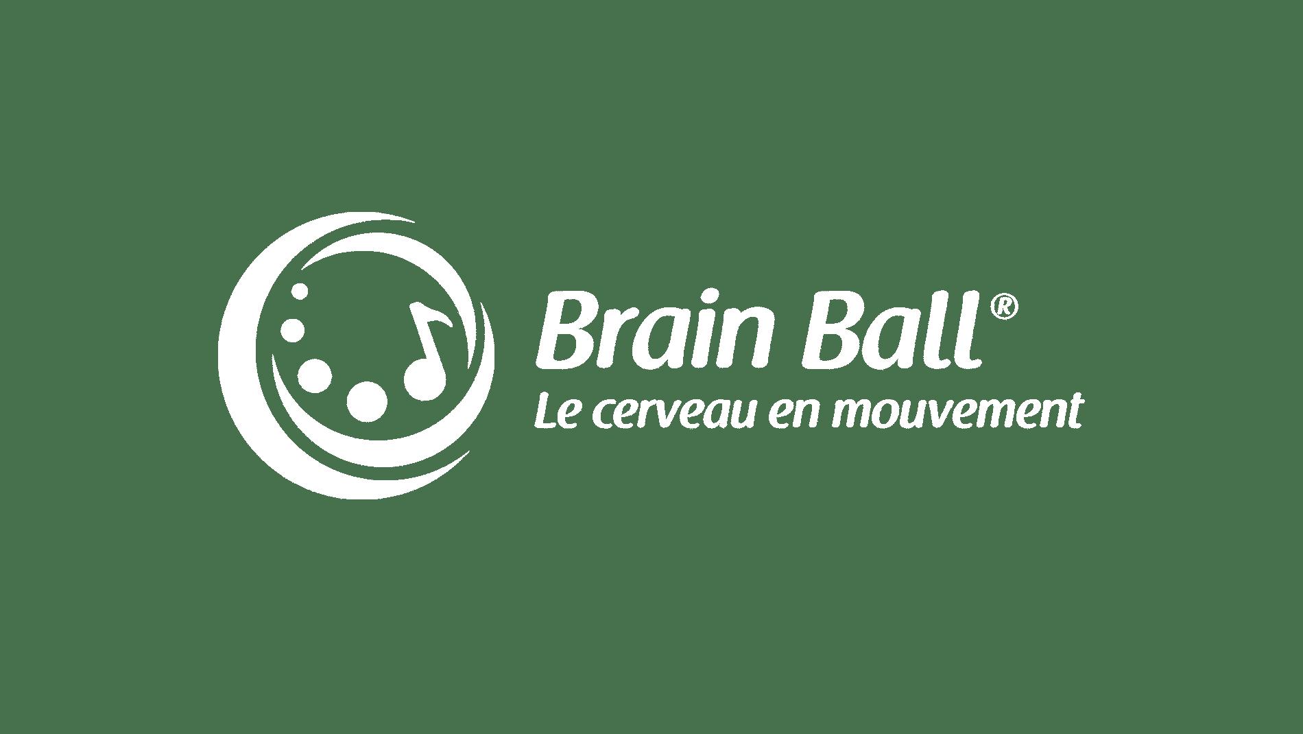 Logo Brain Ball Le Cerveau en Mouvement